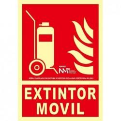 SEÑAL CARRO EXTINTOR PVC 1...
