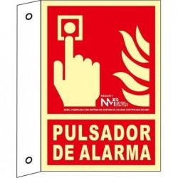 BANDEROLA PULSADOR PVC 1mm...