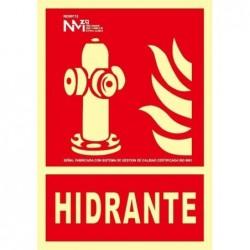 SEÑAL HIDRANTE PVC 0,7mm...