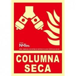 SEÑAL COLUMNA SECA PVC...