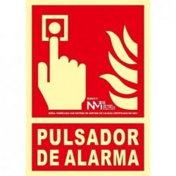 SEÑAL PULSADOR PVC 0,4mm...