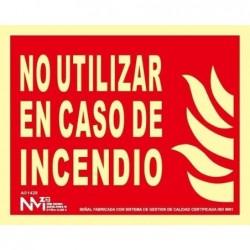SEÑAL NO UT EN CASO DE...