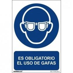 SEÑAL OBLIG EL USO DE GAFAS...