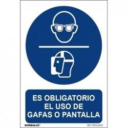 SEÑAL OBLIGATORIO USO DE...