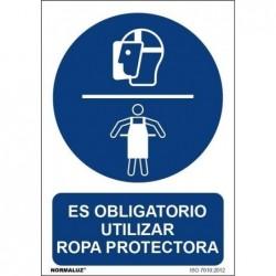 SEÑAL OBLIGATORIO USAR ROPA...