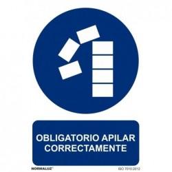 SEÑAL OBLIGATORIO APILAR...
