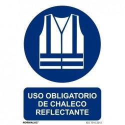 SEÑAL OBBLIGATORIO CHALECO...
