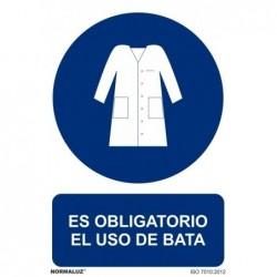 SEÑAL OBLIGATORIO BATA PVC...