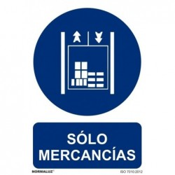 ADH SOLO MERCANCIAS  200X300mm