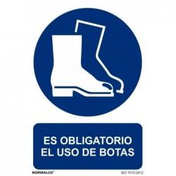 ALUMINIO USO DE BOTAS...