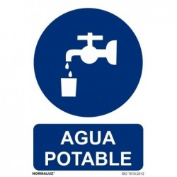 ALUM AGUA POTABLE 210X300mm