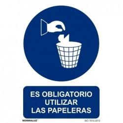 ALUM OBLIGATORIO PAPELERAS...