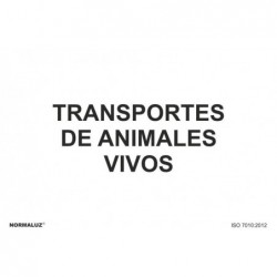 SEÑAL TRANSPORTE ANIMALES...