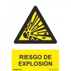 SEÑAL PELIGRO RIESGO DE...