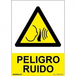 ADH PELIGRO RUIDO 200X300mm