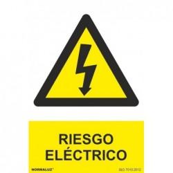 ADH RIESGO ELECTRICO 100x150mm