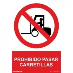 SEÑAL PROHIBIDO PASAR...