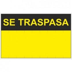 SEÑAL SE TRASPASA  PVC...