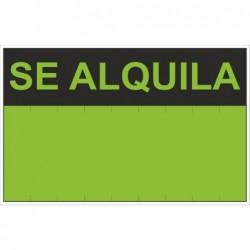 SEÑAL SE ALQUILA PVC 0,4mm...