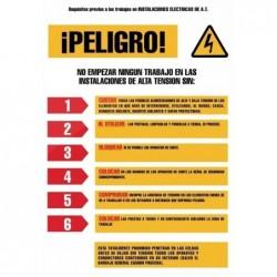 SEÑAL PVC 0,3 REQUISITOS...
