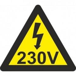 ADHESIVO TRIANGULO 230V...