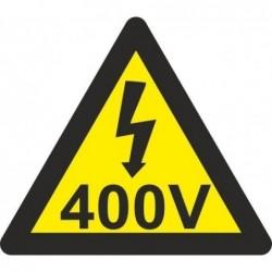 ADHESIVO TRIANGULO 400V...