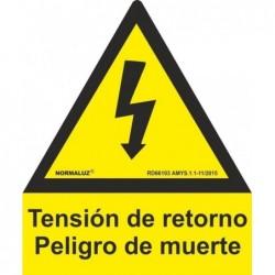 SEÑAL ALUMINIO PENTAGONO T....