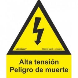 SEÑAL PVC 0,7mm  PENTAGONO...