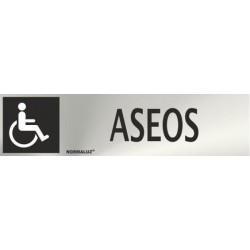 SEÑAL INOX ASEOS...