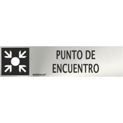 SEÑAL INOX PUNTO DE...
