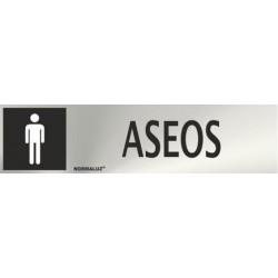 SEÑAL INOX ASEOS HOMBRE...