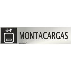SEÑAL INOX MONTACARGAS...