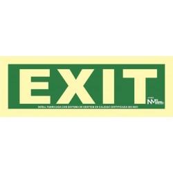 SEÑAL EXIT PVC 1MM CLASE A...