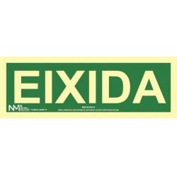 SEÑAL EIXIDA PVC 0,7MM...
