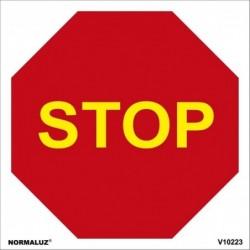 SEÑAL VIAL STOP PVC 0,7mm...