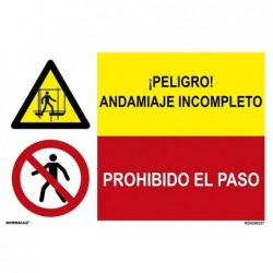 SEÑAL COMB P.ANDAMIAJE...