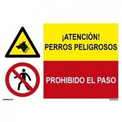 SEÑAL COMB P.PERROS...
