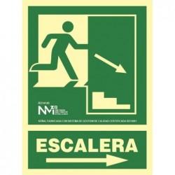 S. ALUM CLASE A ESCALERA...