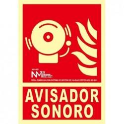 S.AVISADOR SONORO ALUMINIO...