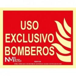 S. USO EXCLUSIVO BOMBEROS...