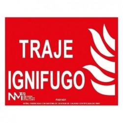 S. TRAJE IGNIFUGO ALUMINIO...