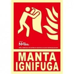 S. MANTA IGNIFUGA ALUMINIO...