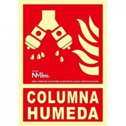 S.COLUMNA HUMEDA ALUMINIO...