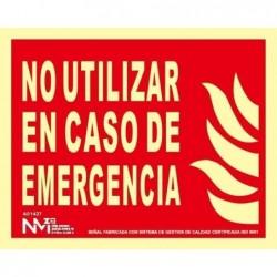 S. NO UTILIZAR EMERGENCIA...
