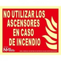 S. NO UTIL. ASCENSORES...