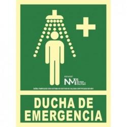 S.DUCHA EMERGENCIA ALUMINIO...